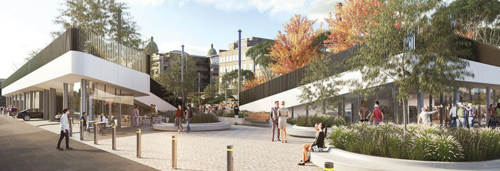 Artistic Rendition of Point Cook Community Hospital